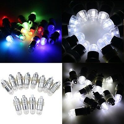 12x SUBMERSIBLE Waterproof LED Light Paper Lantern Balloon Floral WEDDING Party
