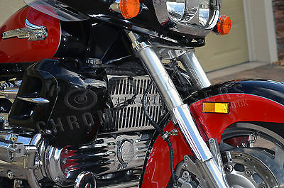 Honda F6C Valkyrie Gl1500C Chrome Radiator Cover Guard Grill Panel