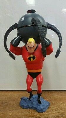 Disney On Ice Incredibles 10 Mr Incredible Electronic Statue Spinning Droid RARE