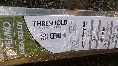 "New Pemko 1/2"" 36"" Commercial Saddle Door Threshold Aluminum 227A36"