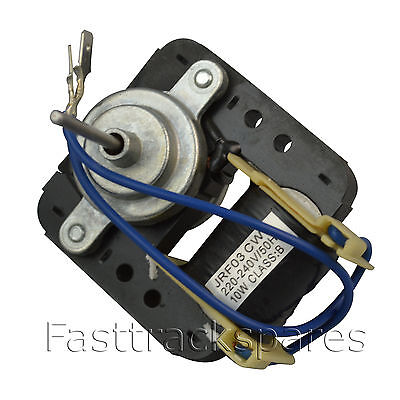 Reversible Evaporative Fan Motor for Refrigerators 240V 50HZ Universal Fitting
