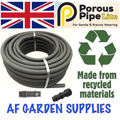 Porous Pipe - Lite 25mx13mm Roll. Leaky, soaker, garden irrigation/Watering hose