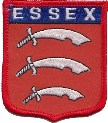 Essex County Embroidered Patch Badge