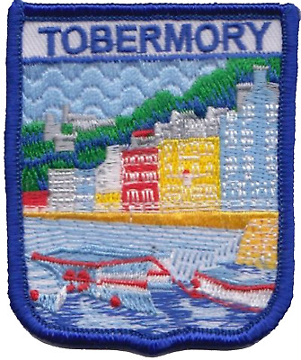 Tobermory Isle of Mull Scotland Embroidered Patch Badge