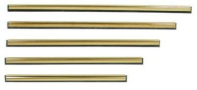 PULEX Brass Squeegee Channel and Rubber - All Sizes Available