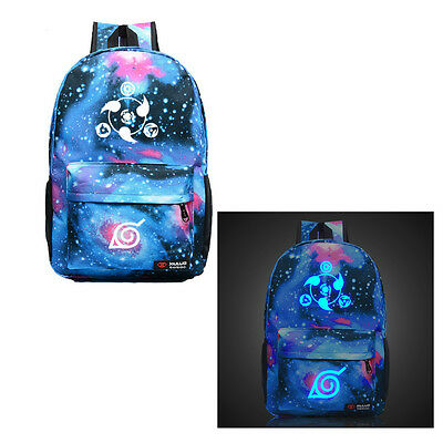 Anime Naruto  Backpack Noctilucence School Bag