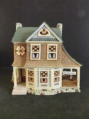 "Dept 56 Seasons Bay ""the Side Porch Cafe"" - Open Edition - # 53303 - New In Box"