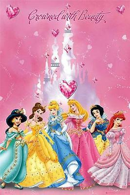 Maxi Poster 61cm x 91.5cm new and sealed Disney Fairies Flowers