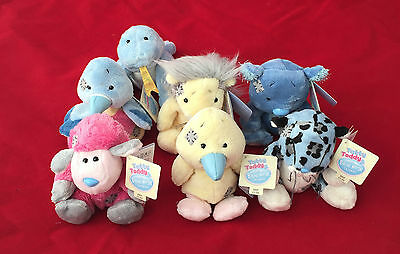 """Blue Nose Friends 4"""" Plush Soft Toy - Me To You - Tatty Teddy"""