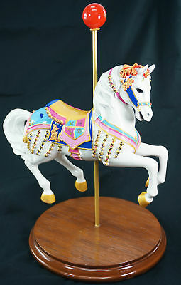 Disneyland Jingles Carousel Lead Horse Figure Ltd Ed Alex Maher Julie Andrews