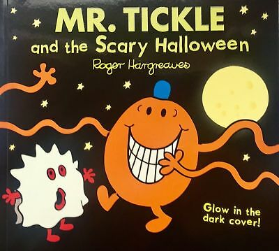 NEW sparkly MR TICKLE and the SCARY HALLOWEEN (BUY 5 GET 1 FREE) Mr Men Miss
