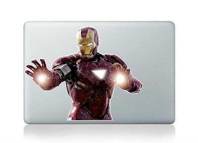 #175 IRON MAN SUPER HERO ANY SIZE OR COLOR CUSTOM CUT VINYL DECAL STICKER