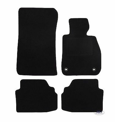 Quality FULLY TAILORED Black floor Car Mats fits BMW 3 SERIES E92 COUPE 2005-12