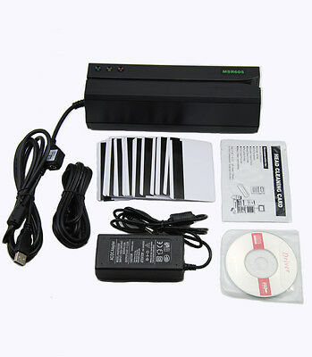 MSR605 Magnetic  Credit Card Reader Writer Swipe Magstripe Stripe Encoder MSR206