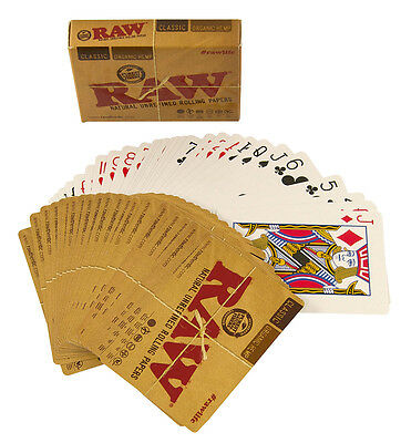 Raw Brand Playing Cards - Free UK P&P