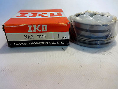 New In Box Iko/nippon Thompson Nax-7040 Needle Roller Bearing Assembly