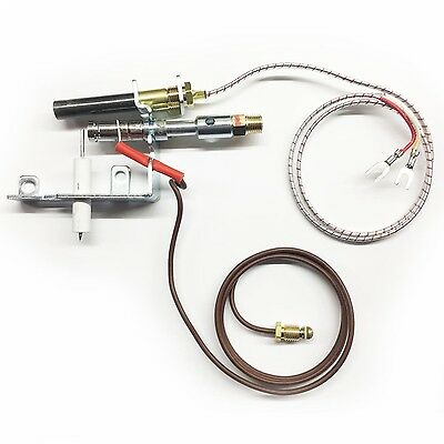 Gas Logs J3866 Propane Pilot ODS replacement for LPG Heaters Fireplaces