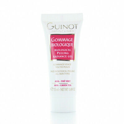 Guinot Gommage Biologique Biological Peeling Radiance Gel 0.49oz/15ml TRAVEL