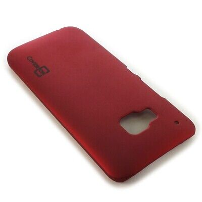 For HTC One M9 Hard Case Slim Matte Back Phone Cover - Red Scarlet