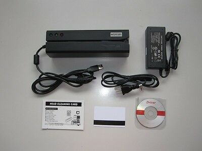 MSR606 Magnetic Stripe Credit Card Reader/Writer Encoder Swipe Magstripe