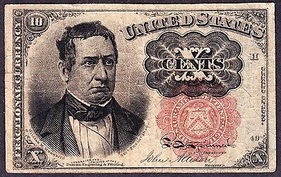 US 10c Fractional Currency 5th Issue Pos H 49 FR 1265 F-VF