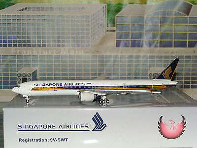 Phoenix 400 Singapore Airlines B777 -300ER 9V-SWT 1/400 **Free S&H**