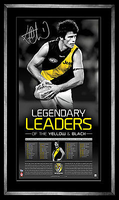 Trent Cotchin Richmond Captain Signed Framed Limited Edition Lithograph Print
