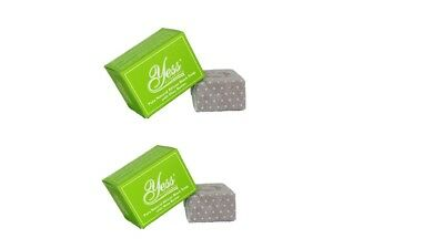 Yess Essentials Pure Natural African Black Soap With Shea Butter (Pack Of 2)