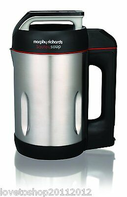 Morphy Richards Saute and Soup Maker Brushed Stainless Steel - 501014
