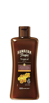 Hawaiian Tropic Professional Tanning Sun Tan Oil SPF 6