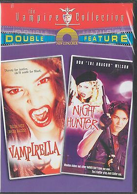 Vampirella/Night Hunter - Double Feature DVD (DVD, 2003) Roger Daltrey, NEW
