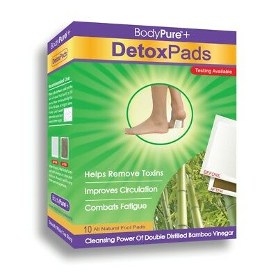 BodyPure Detox Pads - 10 Count