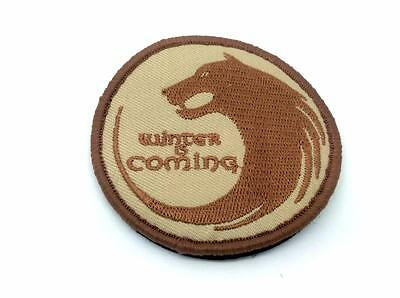 Winter Is Coming Game Of Thrones Embroidered Airsoft Patch