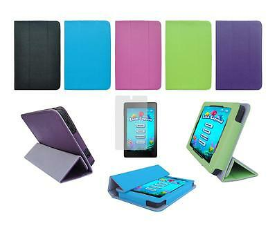 "Folio Skin Cover Case and Screen Protector for Amazon Kindle Fire HD 6"" 2014"