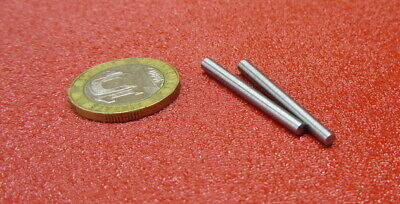 "Steel Taper Pins No. 3/0 .125 Large End x .099 Small End x 1 1/4"" Long, 50 Pcs"