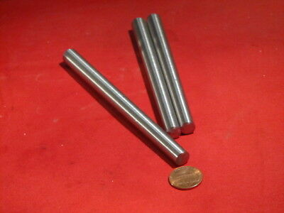 "Steel Taper Pins No. 8 .492 Large End x .367 Small End x 6.0"" Long, 3 Pcs"