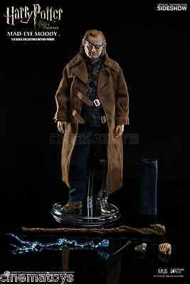 Harry Potter Alastor Mad Eye Moody Malocchio Sixth Scale Action Figure Sideshow