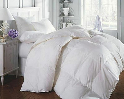 Goose Feather And Down Duvet 13.5 Tog Single Double King Superking Size Quilt