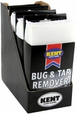Kent BUG AND TAR Remover 4 Pack Scratch Free Clean Windscreen & Body Valeting