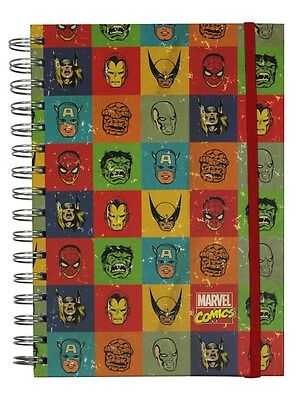 Marvel Faces A5 Notebook - NEW & OFFICIAL