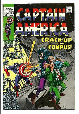 Captain America # 120 (Dec 1969), Fn+