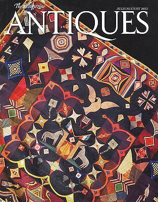 The Magazine Antiques - July August 2012 - Excellent Condition
