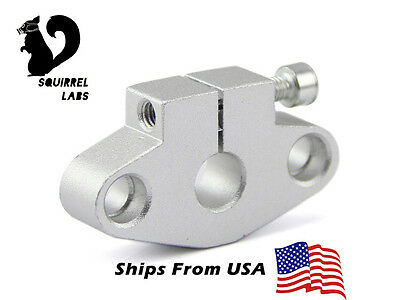 SHF8 SHF08 8mm Rod Holder Linear Rail Shaft Support CNC Mill RepRap 3D Printer