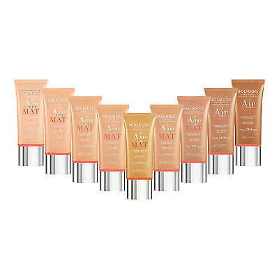 BOURJOIS AIR MAT FOUNDATION 24 HOURS HOLD SPF10 - choose your shade