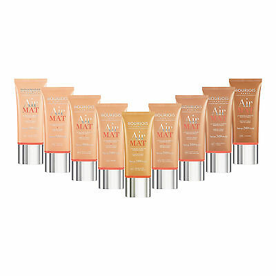 BOURJOIS AIR MAT FOUNDATION 24H - choose your shade