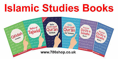 Safar Learning Books – Islamic Studies (Complete Qaidah, Tajweed, Memorisation)