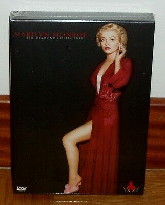 Marilyn Monroe-The Diamond Collection-5 Dvd-Nuevo-Precintado-New-Sealed-Comedia