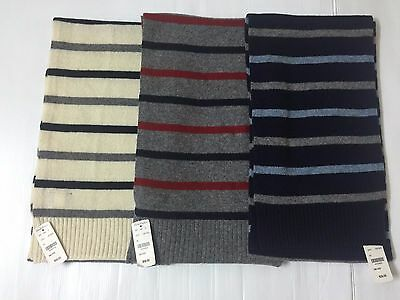 Nwt Brooks Brothers Men's Woolen Scarves