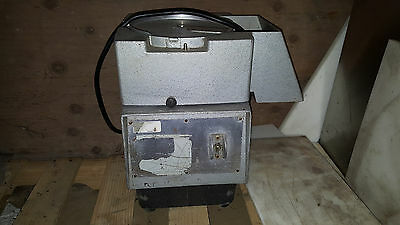 Robot Coupe R4X Food Processor Base w Motor Continuous Feed Chute Chopper Cutter