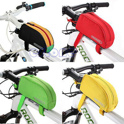 HOT! Bike Cycling Frame Front Top Tube Bag Pouch Pannier Case Holder Colorful